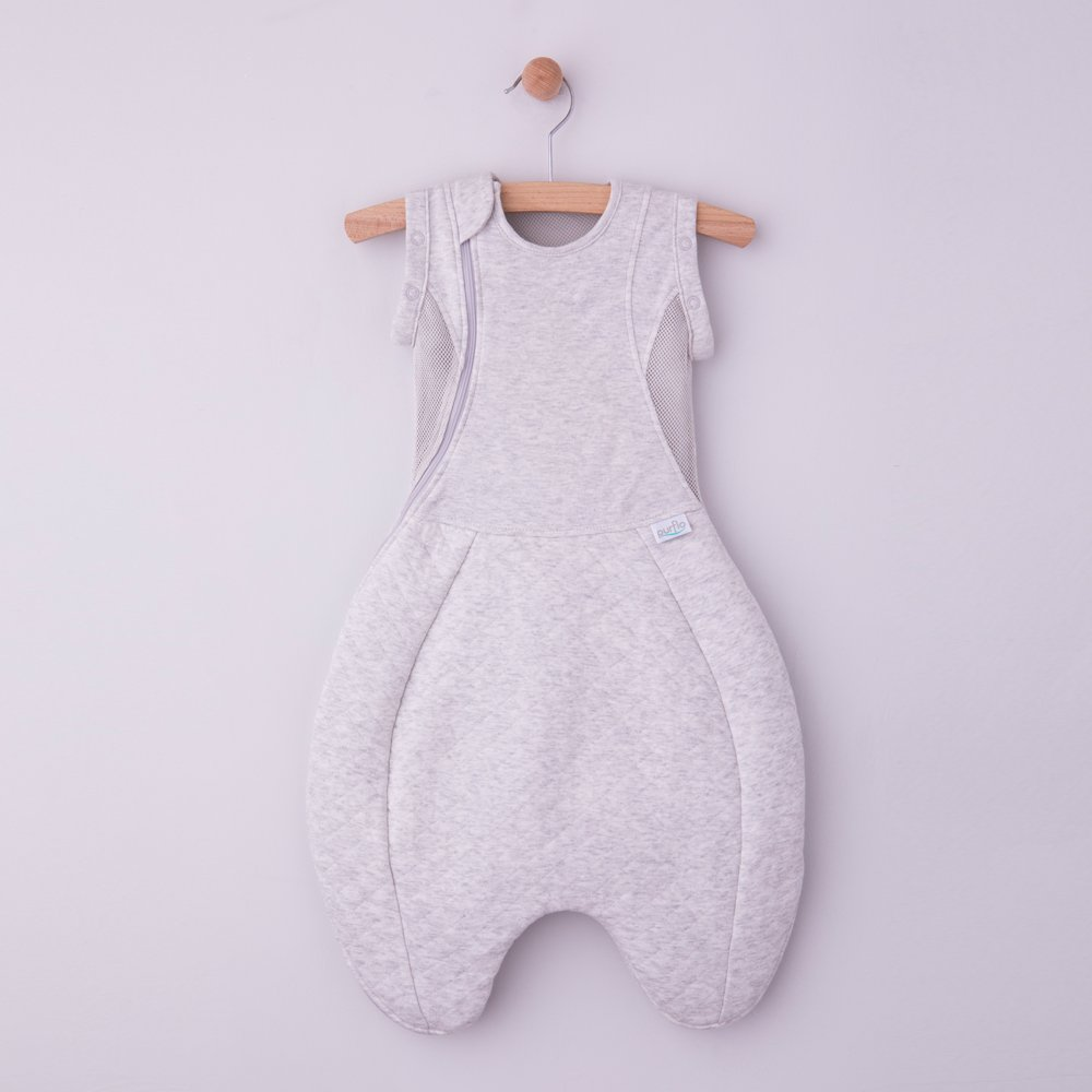 Swaddle to Sleep Bag Grey
