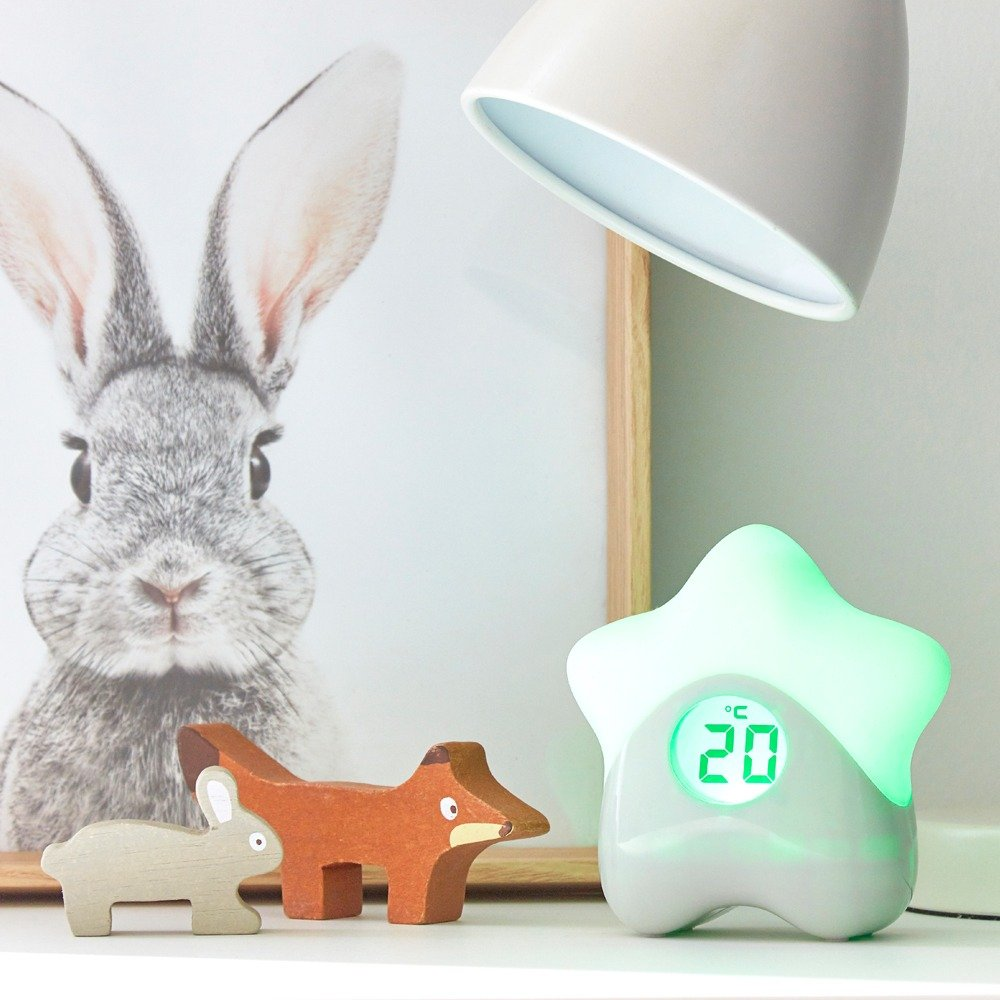 Starlight Room Thermometer - green for perfect temperature