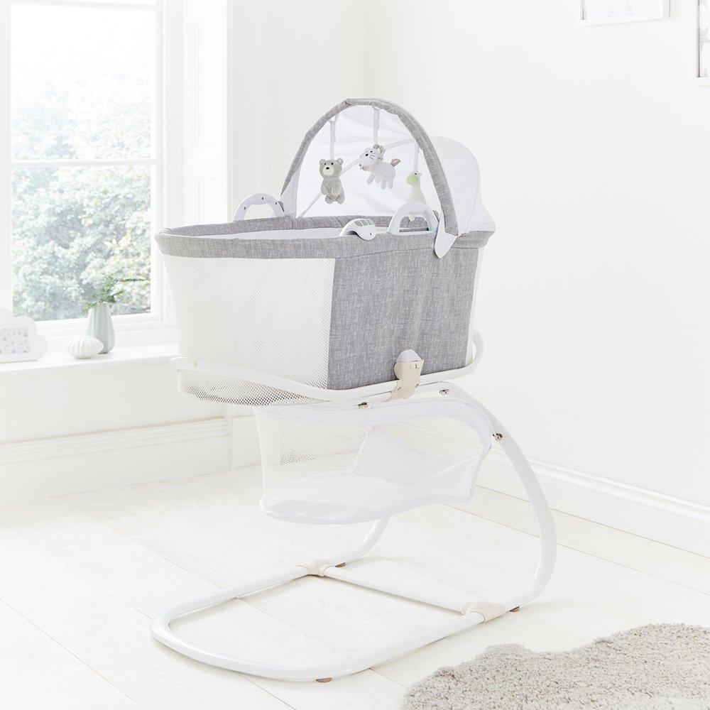 Breathable Bassinet - Marl Grey