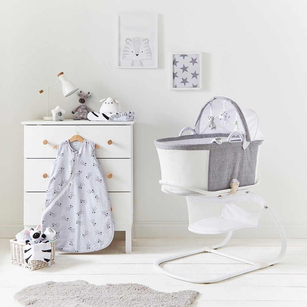 Breathable Bassinet in Nursery