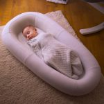 Sleep Tight Baby Bed Soft White Overnight