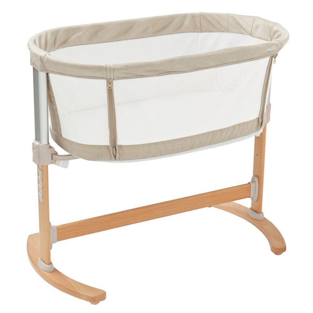 Bedside Crib Natural