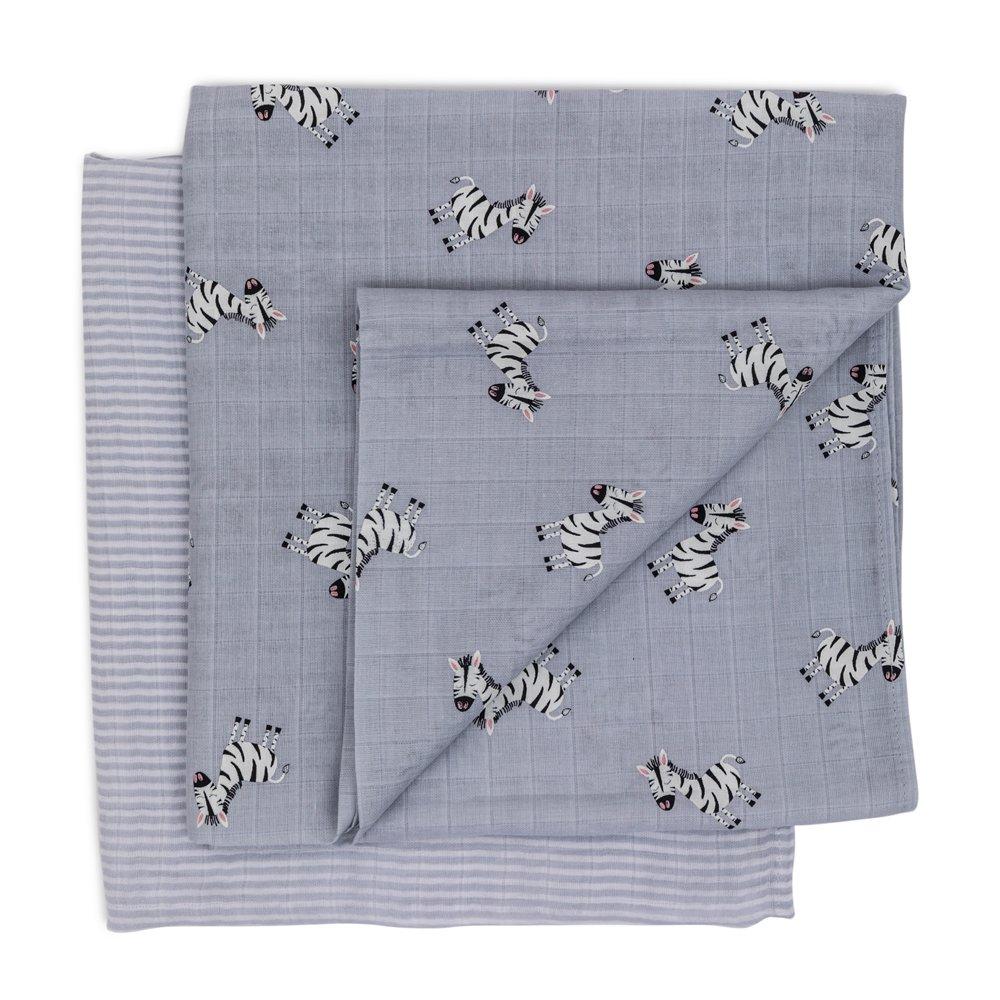 Muslin Set - Zebra Folded
