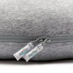 Breathable Nest Maxi - Marl Grey Zips