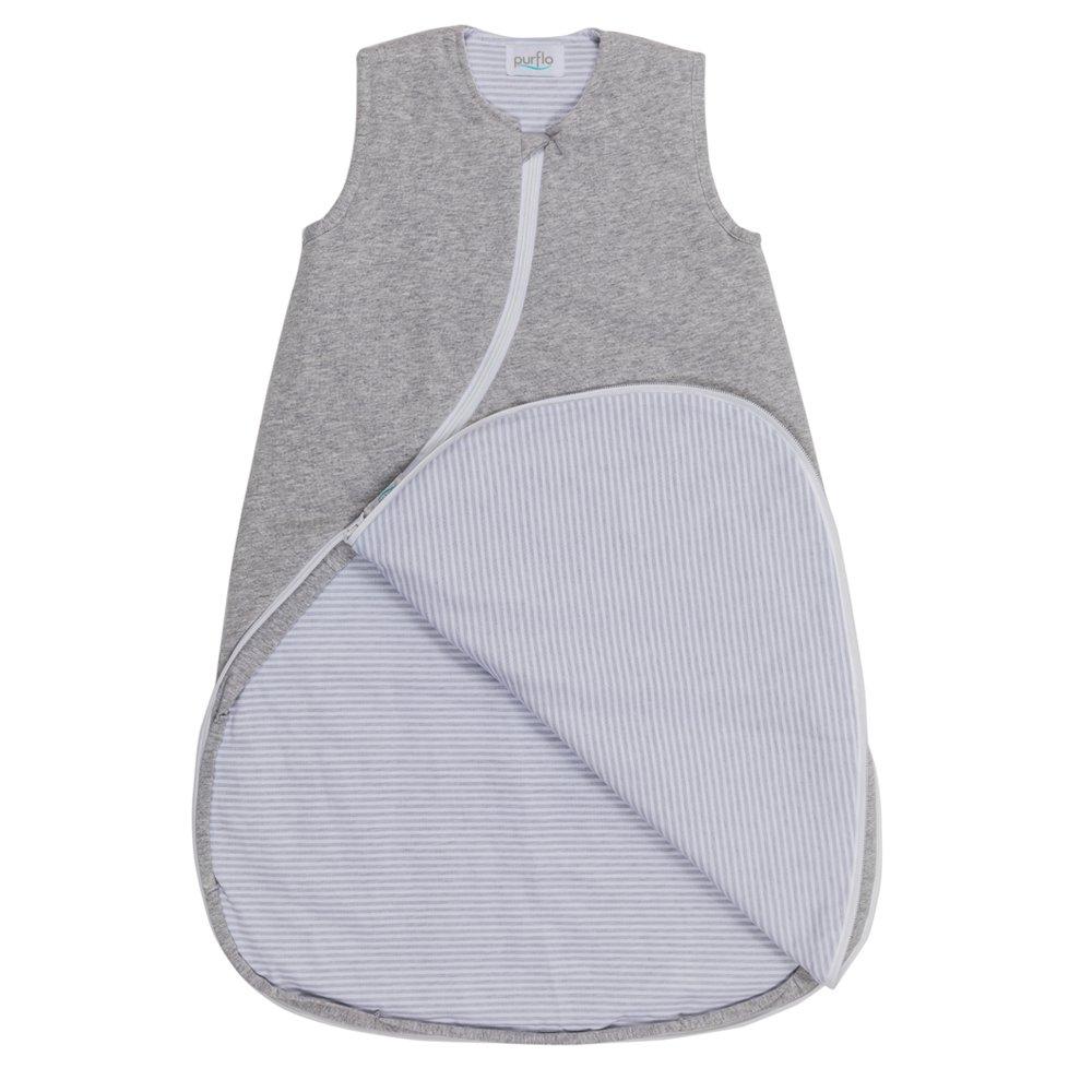 Sleepsac Marl Grey Zip Open