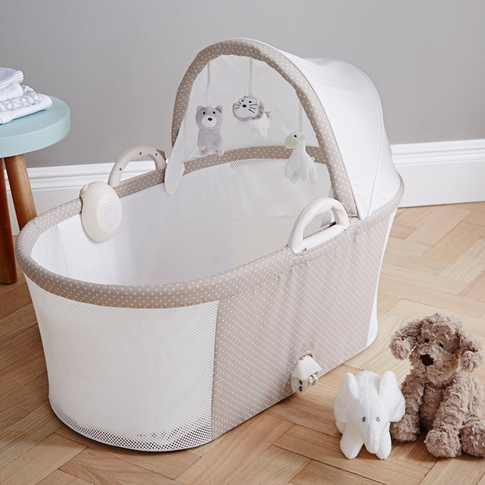 Breathable Bassinet Soft Truffle