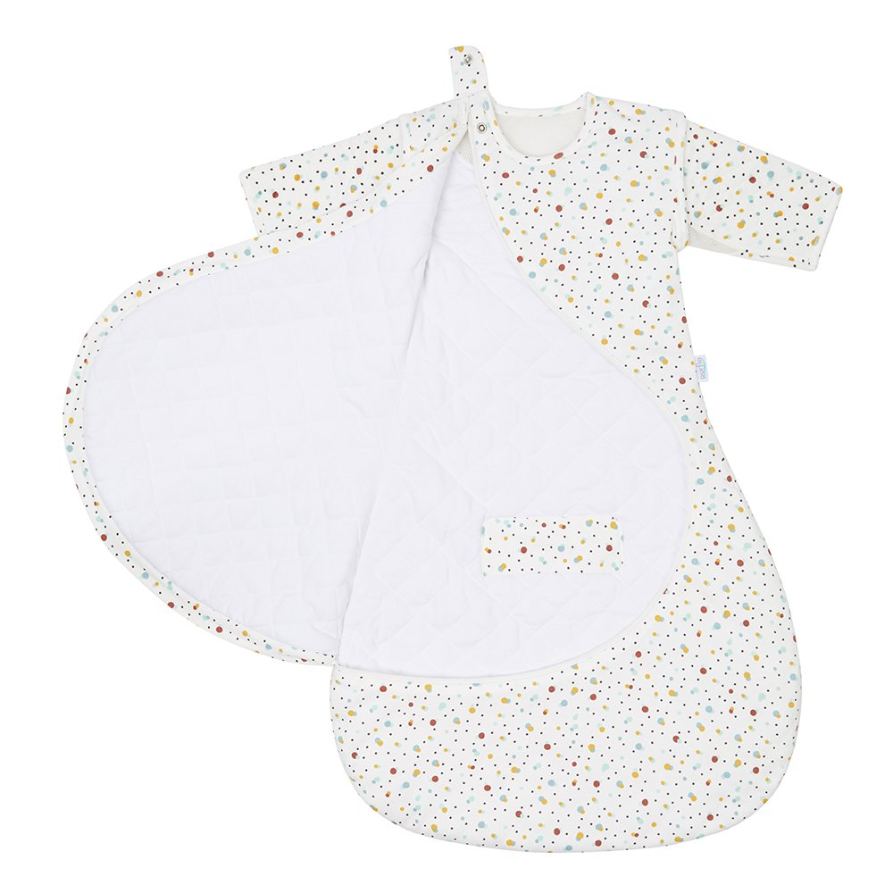 Scandi Baby Sleep Bag Zip Open