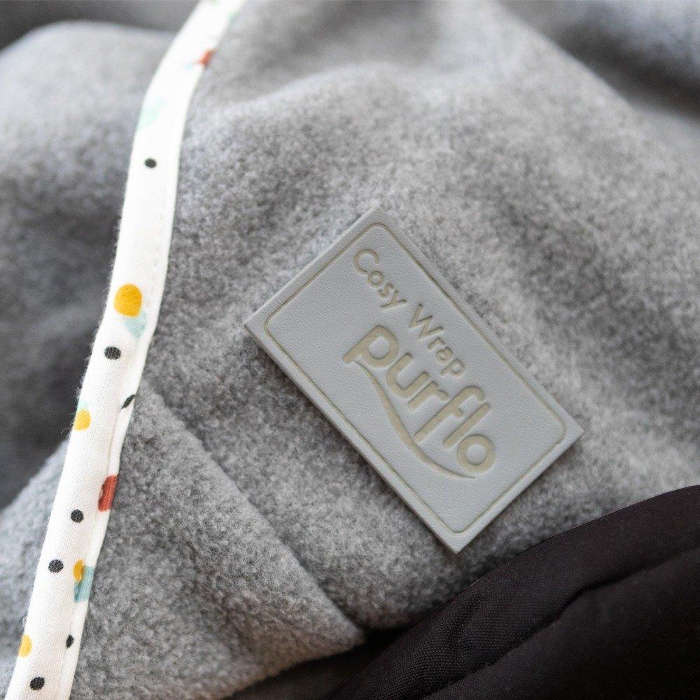Cosy Wrap Travel Blanket Scandi - Purflo Logo