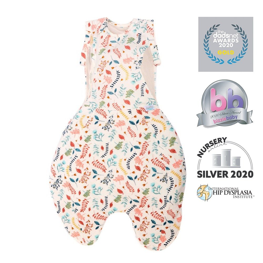 Swaddle to Sleep Bag - Botanical - Awards