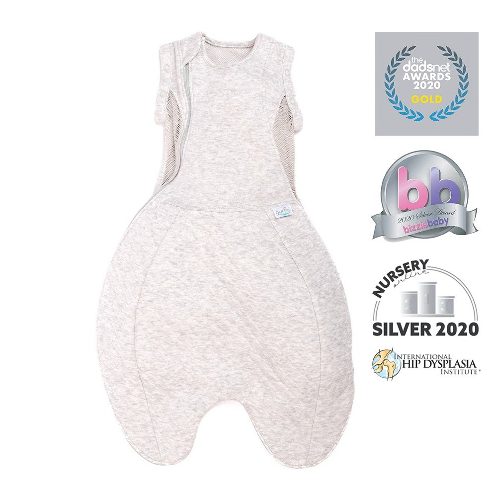Swaddle to Sleep Bag - Grey - Awards