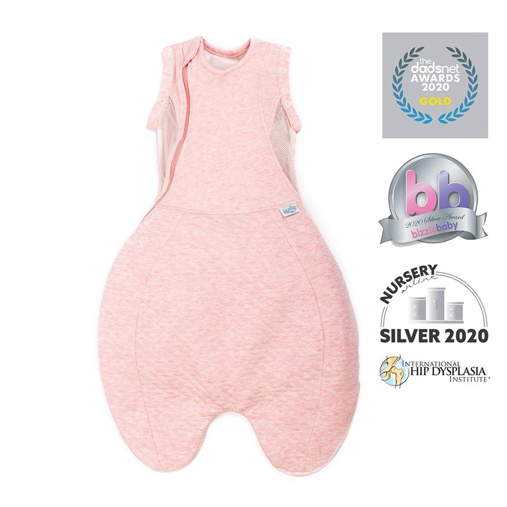 Swaddle to Sleep Bag - Pink - Awards