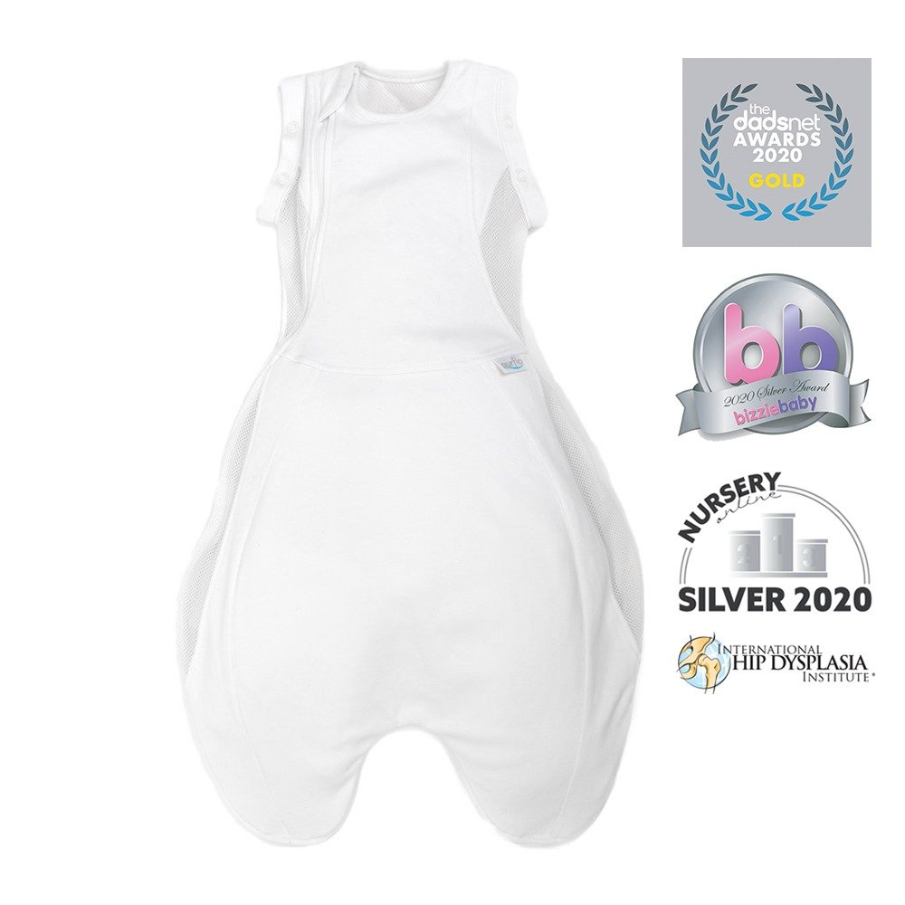 Swaddle to Sleep Bag - White - Awards