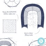 The Sleep Tight Baby Bed passes the BS 4578:1970 airflow safety test due to its clever filling