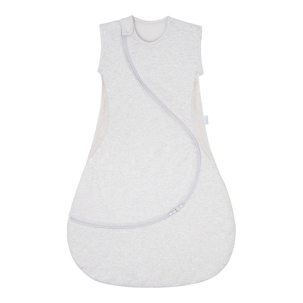 Baby Sleep Bag Lightweight 0.5 Tog Minimal Grey Front